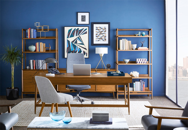 домашній-офіс-в-синіх-тонах
