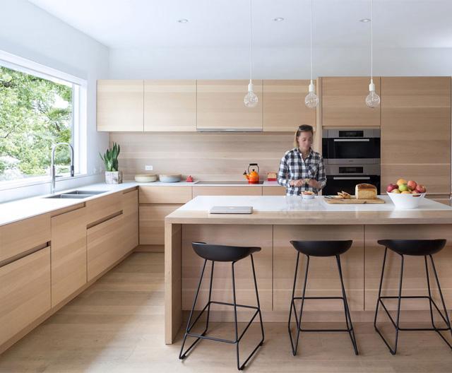 кухня-розового-кольору